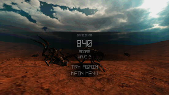 Mission Red Planet - screenshot