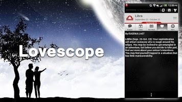 Screenshot of Horoscope: Future. Love, Signs