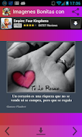 Screenshot of Imagenes Bonitas con Frases 2