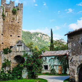 Ninfa Garden, Latina Italy by Angelo Peruzzi - City,  Street & Park  Historic Districts