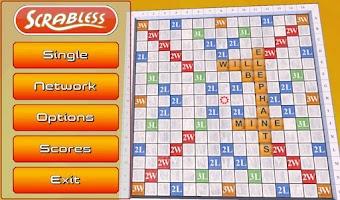 Screenshot of Scrabless