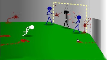 Screenshot of Stickman Click Death Style