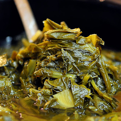 Slow Cooker Turnip Greens