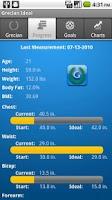 Screenshot of Grecian Ideal Body Tracker