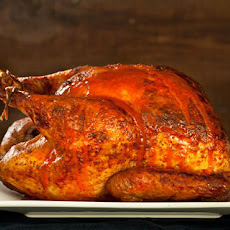 Buffalo Roasted Turkey with Blue Cheese Sauce Recipe