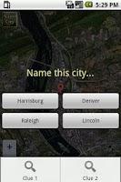 Screenshot of Satellite Quiz: US Cities Lite