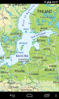 Screenshot of Europe Map
