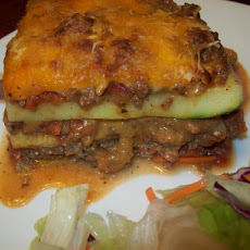 Big Meanie's Meat & Zucchini Lasagna