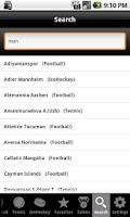 Screenshot of betscores®  live scores & odds