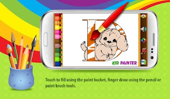 Screenshot of Kid Coloring, Kid Painter