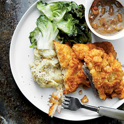 David's Chicken-Fried Steak with Redeye Gravy