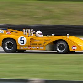 McLaren M8F by Chuck Brandt - Transportation Automobiles ( mclaren sports racing m8f )
