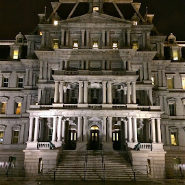 Executive Office Building  by Tyrell Heaton - Instagram & Mobile iPhone ( washington d.c., executive office building, iphone,  )