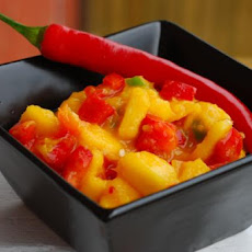 Red Pepper-Mango Salsa