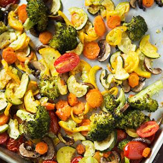 Roasted Broccoli Carrots Zucchini Recipes