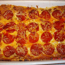 1 Dish Pizza Bake