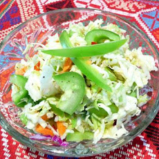 Oil/Vinegar-Based Coleslaw