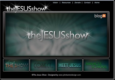 The Jesus Show Website