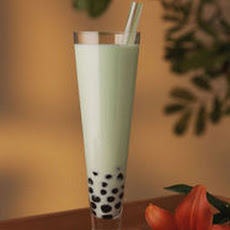 Melon Bubble Tea (Boba Tea)