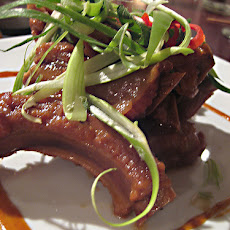Lamb Ribs with Honey and Wine