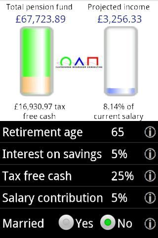 DC Pensions Calculator C-MG