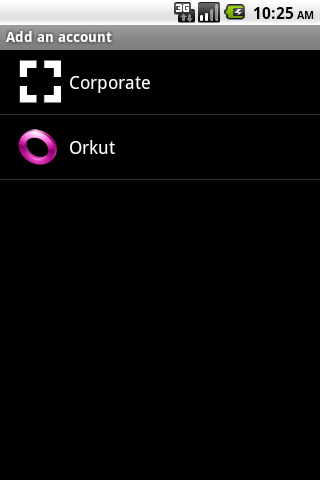 Orkut Contact Sync