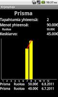 Screenshot of Kirjanpitäjä