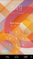 Screenshot of Keypad Lock Screen