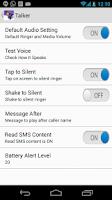 Screenshot of Caller Name Talker