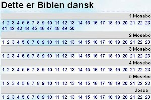 Screenshot of Biblen på Dansk