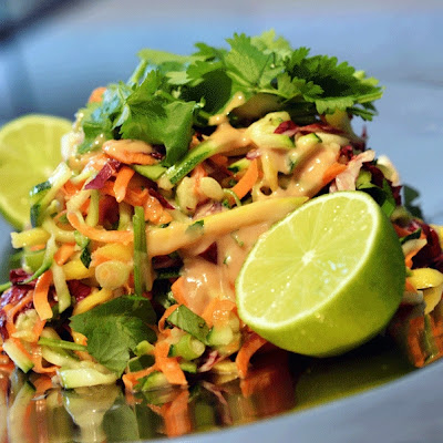 Raw Pad Thai Salad