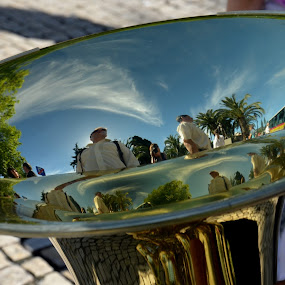 Reflexes by Fernanda Magalhaes - Artistic Objects Musical Instruments ( music, tube, instrument, landscape, close up, object, musical,  )