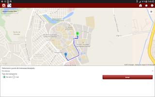 Screenshot of UNICAMP Serviços