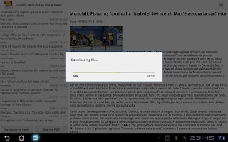 Screenshot of Il Fatto Quotidiano PDF Gratis