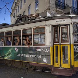 Lisboa  by Luis Cavaleiro - Transportation Trains