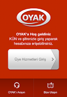 Screenshot of OYAK
