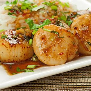 Thai Garlic Scallops Recipes