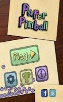 Screenshot of Paper Pinball HD