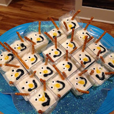 Frozen Themed Party Snacks - Melted Olaf