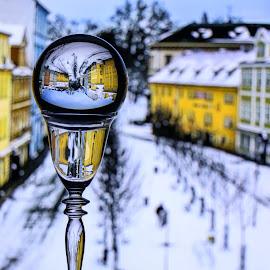 by Ivo Tunchel - City,  Street & Park  Street Scenes