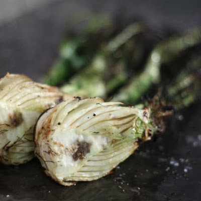 Simple Backyard Grilled Fennel
