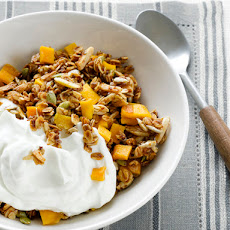 Mango-Agave Granola With Greek Yogurt