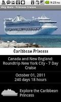 Screenshot of Ship Mate - Princess Cruises