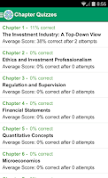 Screenshot of Claritas Study App