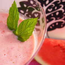 Watermelon & Strawberry Smoothie