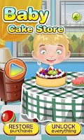 Screenshot of Baby birthday cake maker