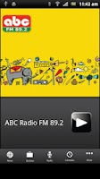 Screenshot of ABC Radio