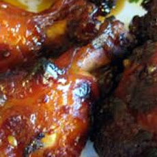 Candied Chicken Wings