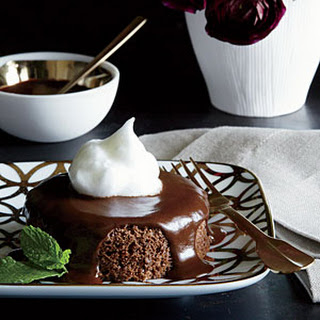 Five-Ingredient Chocolate Cakes