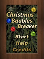 Screenshot of Christmas Baubles Breaker